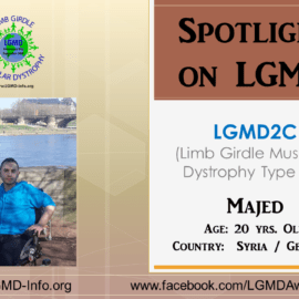 INDIVIDUAL WITH LGMD:   Majed