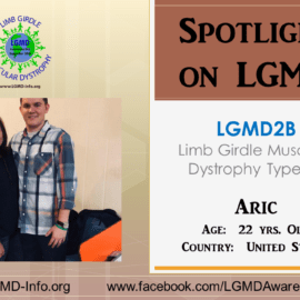 INDIVIDUAL WITH LGMD:  Aric