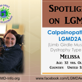 INDIVIDUAL WITH LGMD:  Melissa
