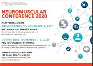 MDC Neuromuscular Conference 2020 @ Sheraton Centre Toronto Hotel