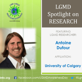 LGMD RESEARCHER:  Antoine Dufour