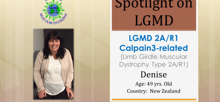 INDIVIDUAL WITH LGMD:  Denise
