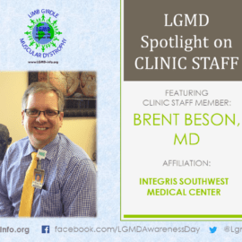 LGMD CLINIC STAFF:  Brent Beson