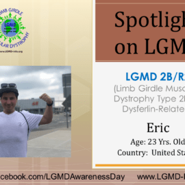 INDIVIDUAL WITH LGMD:  Eric