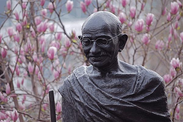 Gandhi Statur in Hyde Park