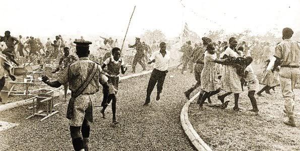 Mzee Kenyata's visit to Kisumu