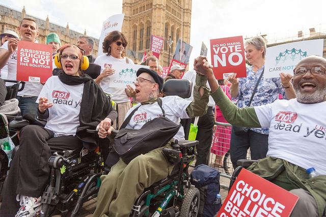 Not Dead Yet UK celebrate Marris Bill defeat