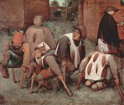 Artists impression of disability poverty