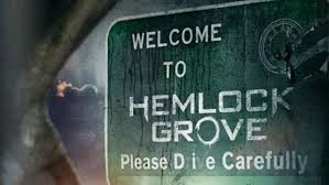 Picture of a gravestone with the words Welcome to Hemlock Grove Please Die carefully