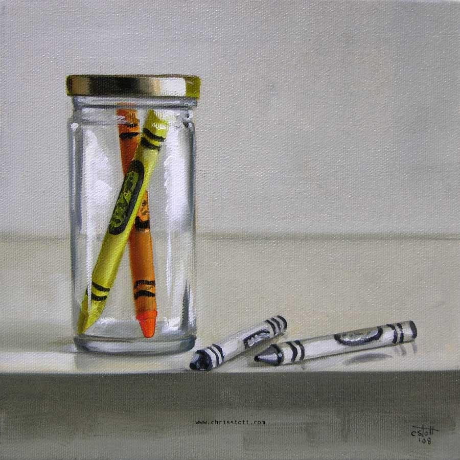 8 x 8 / oil on canvas / 2008