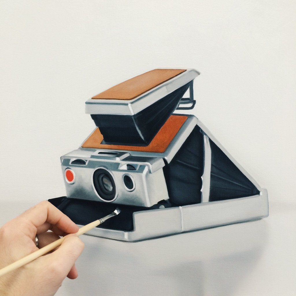 Polaroid SX-70 Painting