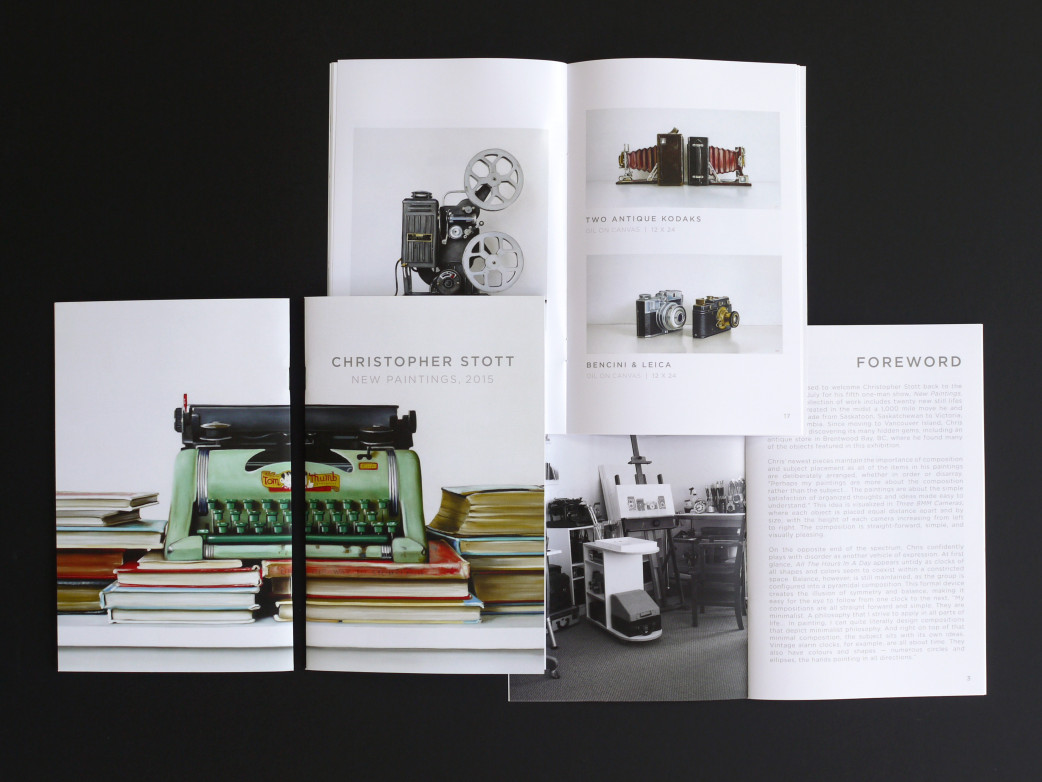 Christopher Stott Elliott Fouts Gallery 2015 Catalogue