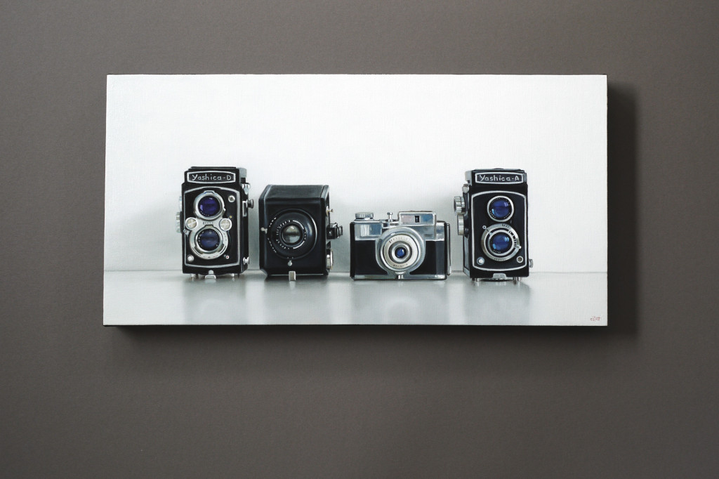 Yashica, Kodak and Bencini / 12 x 24 / Christopher Stott