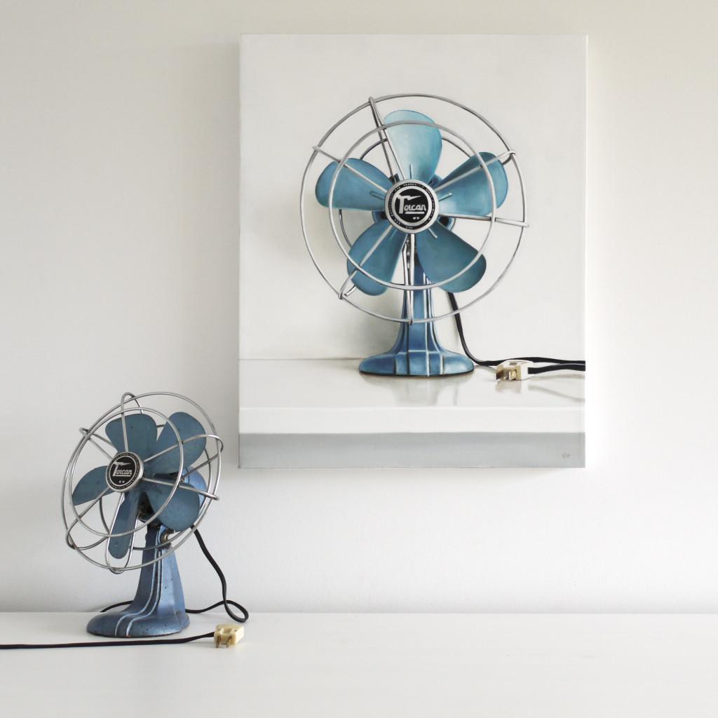 Vintage Torcan Electric Fan by Christopher Stott