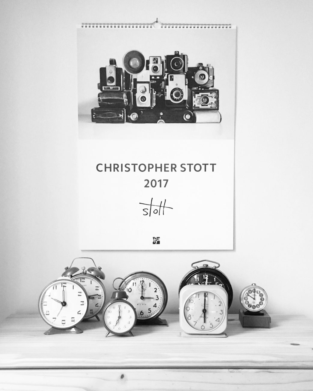 Christopher Stott ITOYA Japan 2017 Calendar