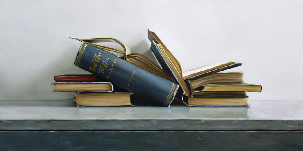 The Way To Win Book II Painting by Christopher Stott