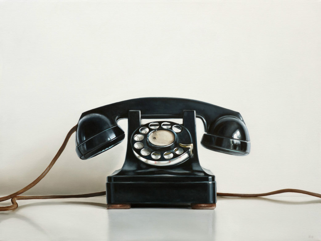 Western Electric Rotary Telephone by Christopher Stott