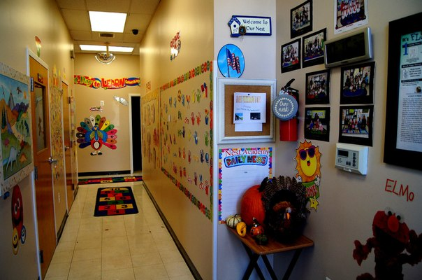 corridor in Lorton preschool