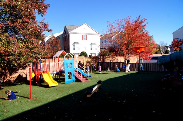 playground at preschool