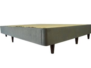 Upholstered KD Foundation with Legs