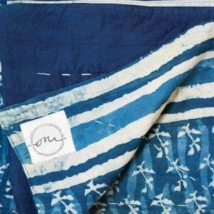 Darjeeling-Indigo-Quilt-Oni-Fabrics-SS17 - Quilts - oni earth-kind fabrics