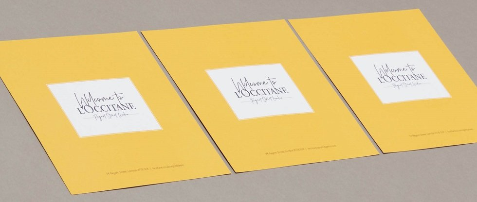 L'Occitane invitations