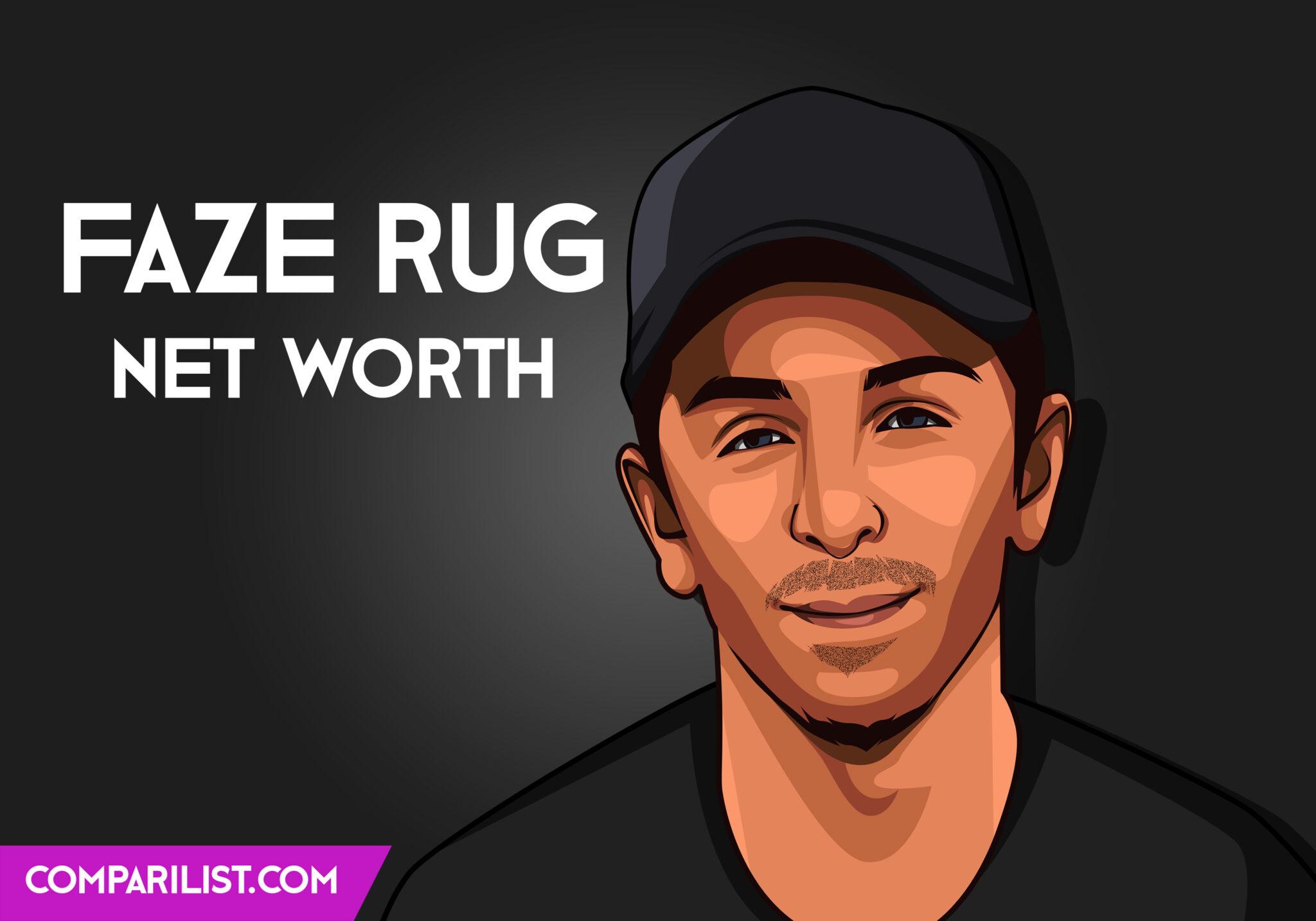 Faze Rug Net Worth 2019   Sources of