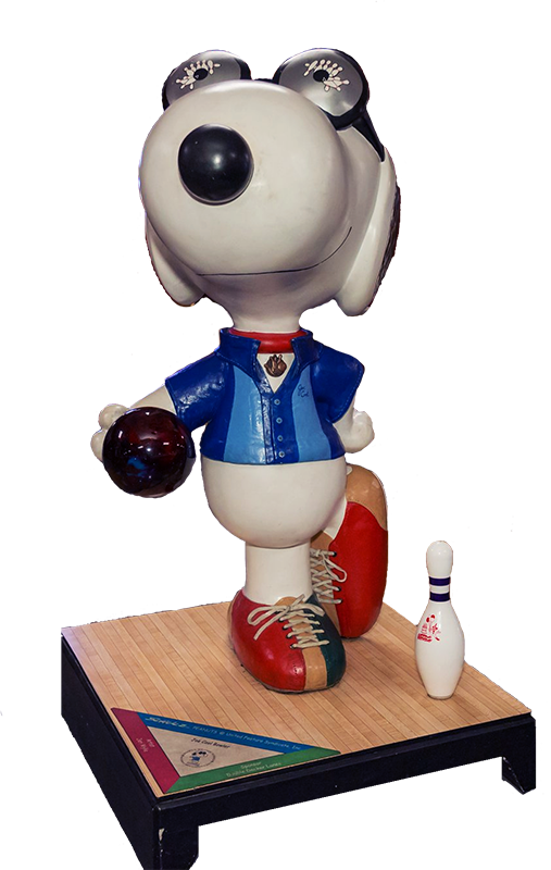Snoopy at the lanes