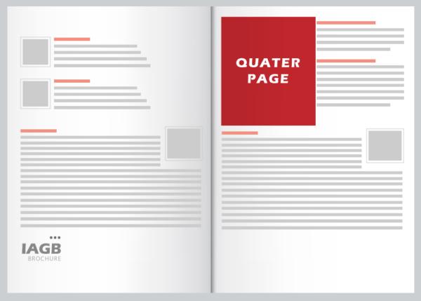 Quarter page color