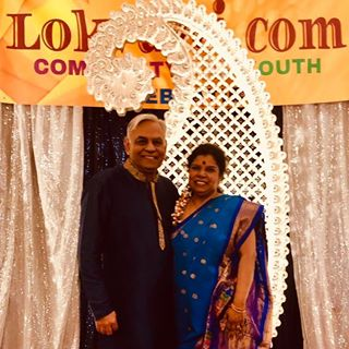 Anil and Ranjani Saigal