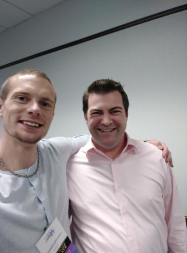 Russell Lehmann with Thomas Illand - June, 2019