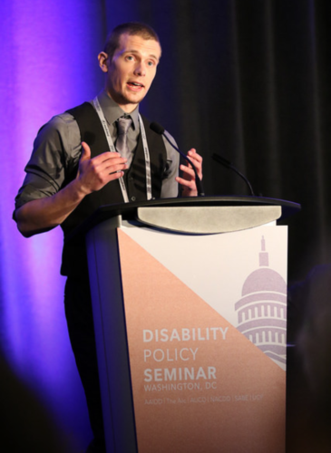 Closing Keynote - Disability Policy Seminar, Wasington D.C. - March 2017
