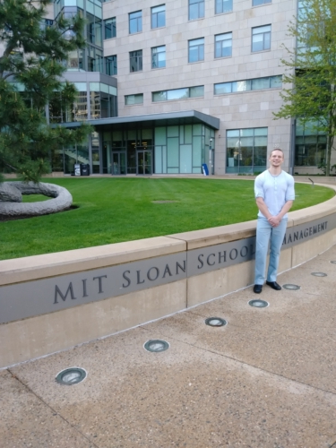 Russell Lehmann at MIT Sloan School of Management, May 2019