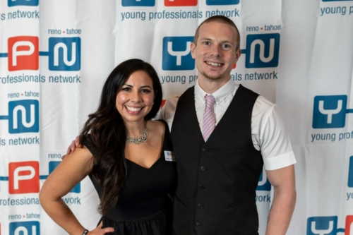 "Presenting the 2019 Reno-Tahoe's ""20 Under 40"" Finalists' Award"