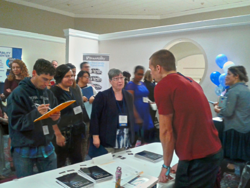Book Signing - Sacramento, CA - Supported Life Conference - October2017