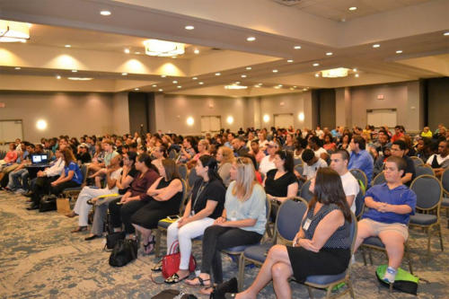 Keynote audience, Youth Transitions Summit,  Fort Lauderdale, FL - September 2017