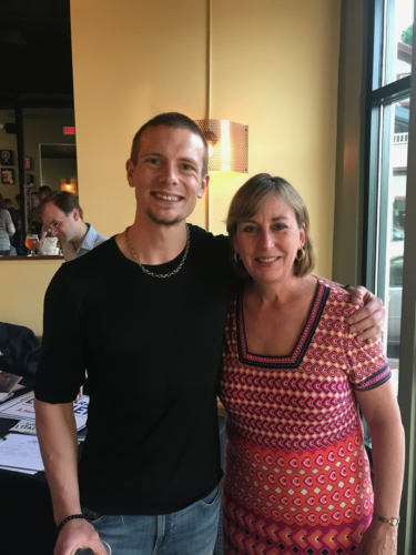 With Massachusetts Senator Barbara L'Italien - May 2018