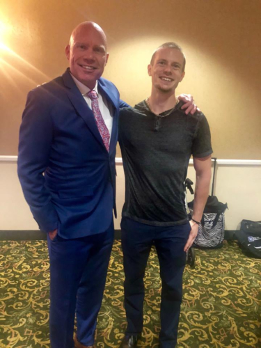 With Erik Lovaas, CEO & President of The Lovaas Center. Las Vegas, NV, August 2018