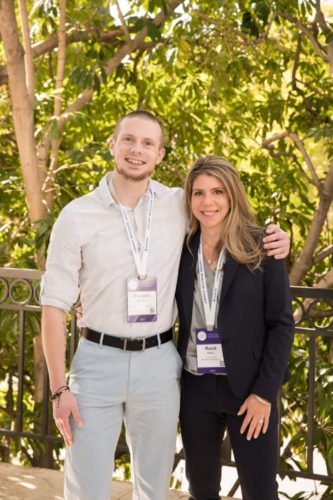 With Ronit Molko Ph.D., BCBA-D, at the annual Autism Investor Summit in Beverly Hills, CA.