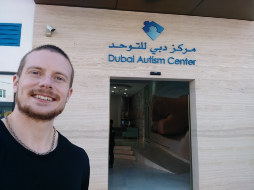 Meeting with the Dubai Autism Center in Dubai, January 2020.