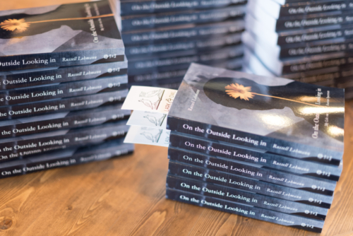 Book signing at the grand opening of Lark and Owl Booksellers, Georgetown, TX - March 2019