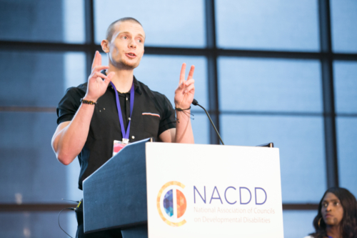 Russell Lehmann National Association of Councils on Developmental Disabilities (NACDD) Conference 2019. New Orleans, LA