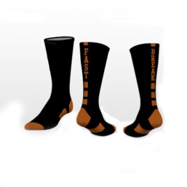 Socks with re-enforced toe and heel. *Other colors available upon request