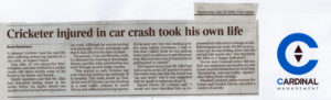 car crash suicide news piece