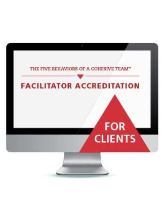 The Five Behaviors™ Facilitator Accreditation