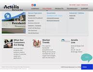 Actelis Website project