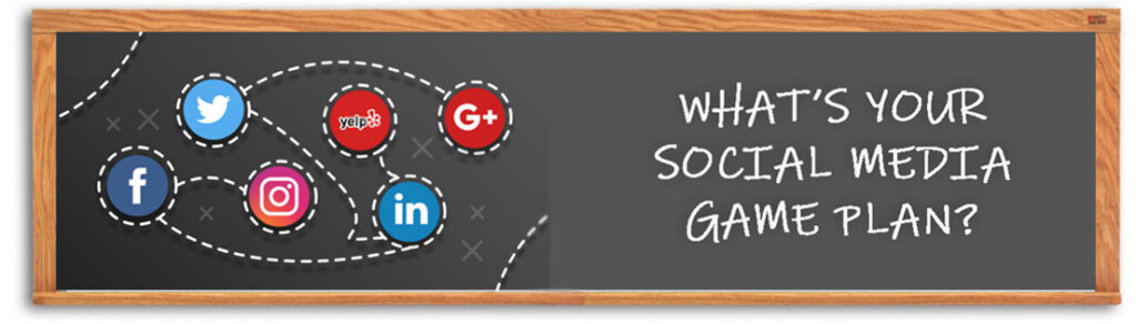 Social Media Game Plan Graphic