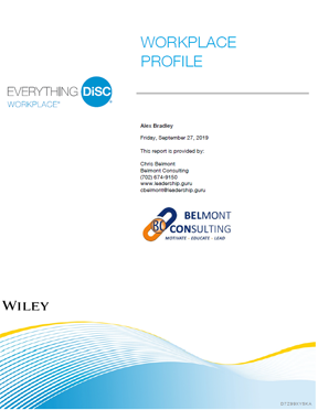 Everything DiSC Workplace Report Cover