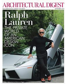Architectural Digest | September 2013