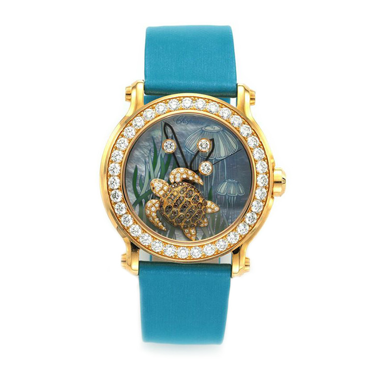 150th Anniversary Animal World Collection 18k Rose Gold Wristwatch, by Chopard
